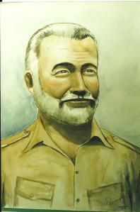 Art -Hemingway - Cuba era - '93