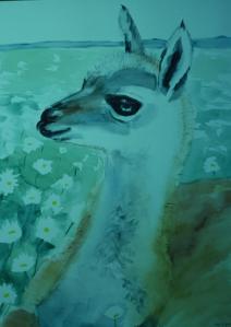 Art - 1980s guanaco