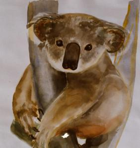 Art - 1980s koala