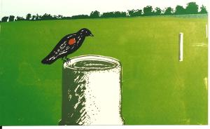 Art -Black Bird Spring -'82