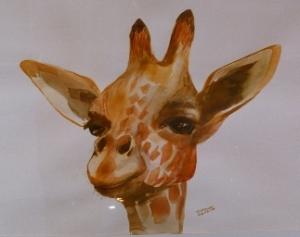 Art - Giraffe 25%