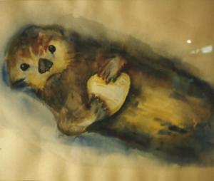 Art -Sea Otter - '79