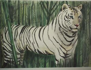 Art -White Tiger '93