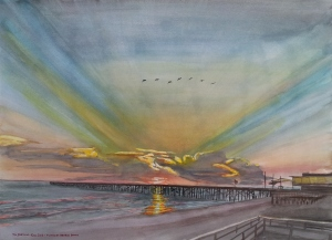 Art - Flagler Beach Dawn 2013-12-15