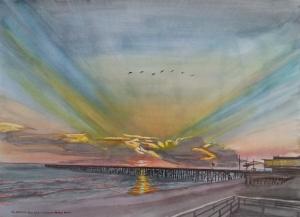 Art - Flagler Beach Dawn 2013-12-15