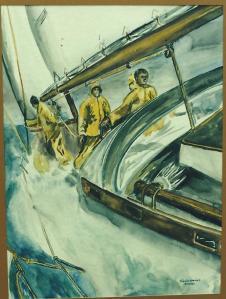 Art -Sailboat '82