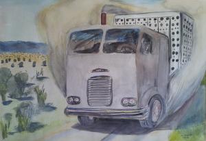 Art - Cattle Truck 2004