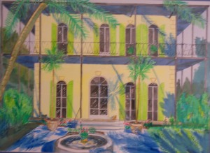 Art - Hemingway House Key West c 2003