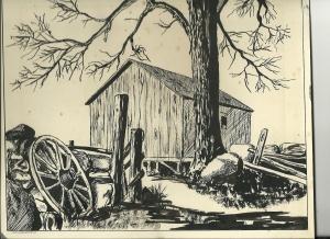 Art - Pen & Ink c 1963