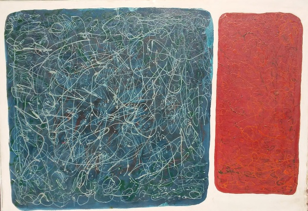 Art - Rothko-Pollock 1 - March 1971