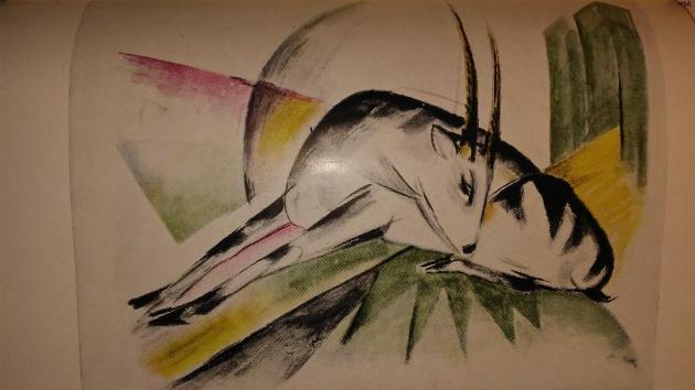 Art - History - Gazelle -1915 - Franz Marc [2018]