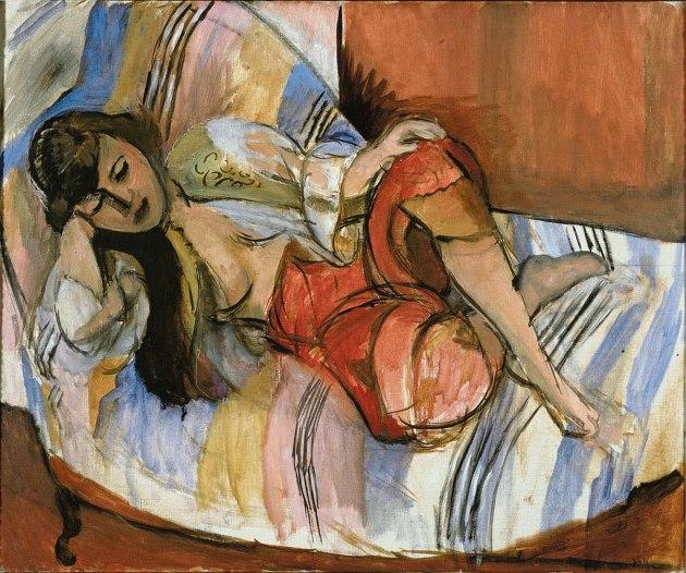 Art - History - Henri Matisse -1920-21 -Odalisque