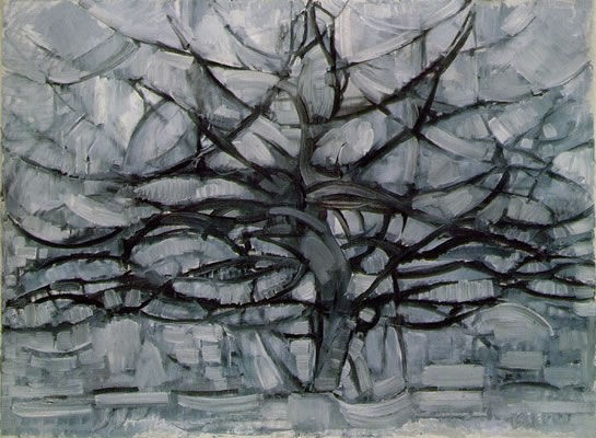 Art - History - Mondrian - Gray Tree 1911
