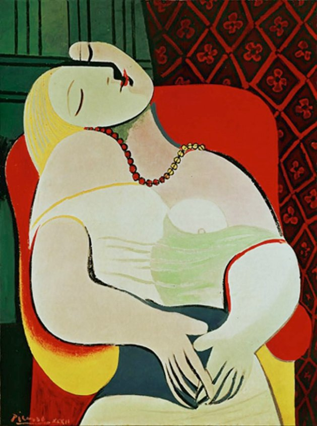 Art - history - The Dream 1932 - Picasso