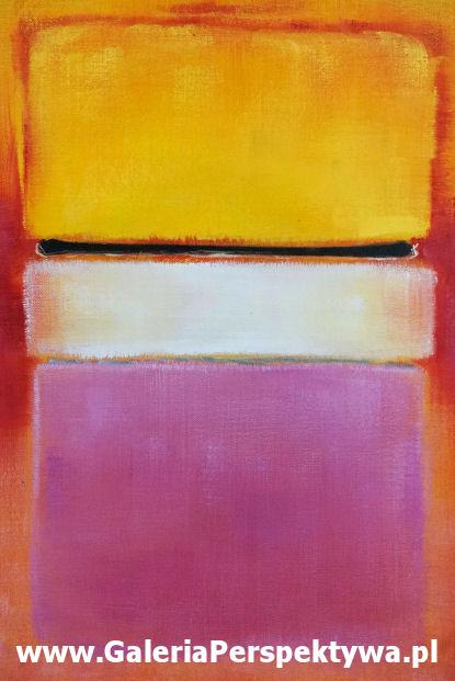 Art - history - White Center Yellow and Pink - 1950 - Marc Rothko