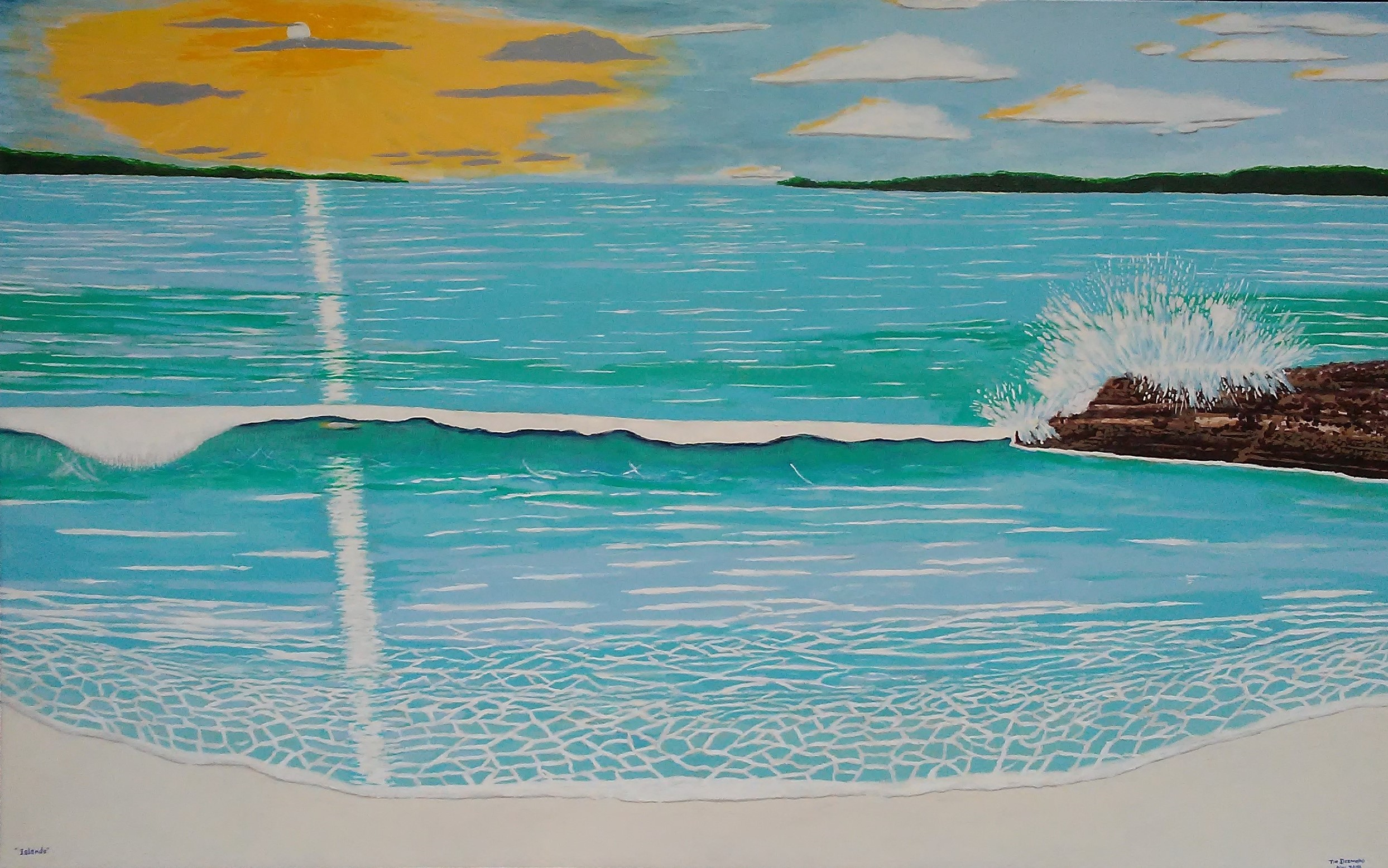 Art - by Desmond - Islands - May 22 - 2019 cropped